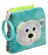 CANPOL BABIES plīša izglītojoša grāmata Bears, 68 / 075_grey 68/075_grey