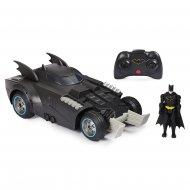 BATMAN 1:16 RC transportlīdzeklis ar figūru Launch & Defend Batmobile, 6055747 6055747