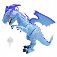 MEGASAUR MIGHTY darbojas ar baterijām staigājošs Dragon, 80074 80074