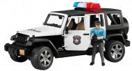 BRUDER Jeep Wrangler Policijas transportlīdzeklis, policists, 2526 2526