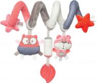 CANPOL BABIES spirālveida rotaļlieta, gultiņai/ratiem Pastel Friends, 68/064 68/064_cor