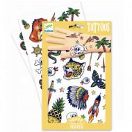 DJECO Body Art Tattoos -Bang bang, DJ09577 DJ09577