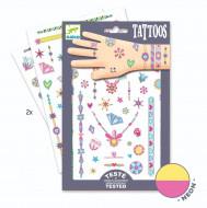 DJECO ķermeņa apglezošana - tetovējumi, DJ08473 DJ09587