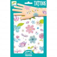 DJECO Body Art Tattoos -Fair flowers of the field, DJ09585 DJ09585