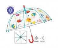 PERLETTI transparent umbrella Fish 42/8, 15592 15592