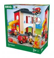 BRIO RAILWAY Fire Station, 33833 33833
