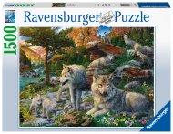 RAVENSBURGER puzle Wolves, 1500gab., 16598 16598