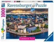 RAVENSBURGER puzle Stockholm, Sweden 1000gab., 16742 16742