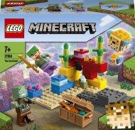 21164 LEGO® Minecraft™ Koraļļu rifs 21164