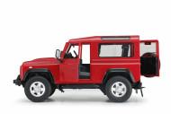 RASTAR rādiovadāms auto R/C 1:14 Land Rover Denfender ar piekabi, 78400-1 78400-1