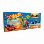 TCG spēļu paklājiņš ar transportlīdzekļu celiņiem Hot Wheels Felt, 30741 30741