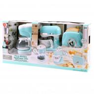 PLAYGO virtuves rīki zili(kafijas automāts, mikseris, tosteris), 38176 38176