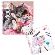 TOPMODEL krāsojamā grāmata Create Your Kitty, 10469 10469
