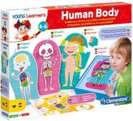 CLEMENTONI Iepazīsti cilvēka ķermeni, spēle, 50590 50590
