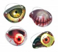 AMSCAN Zombija acs, 12 dažādi veidi, 398147-55 398147-55