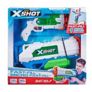 X-SHOT ūdenspistoļu komplekts Fast- Fill ir Micro Fast-Fill, 56225 56225