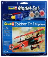 Revell līmējams modelis Fokker DR.1 Triplane 64116