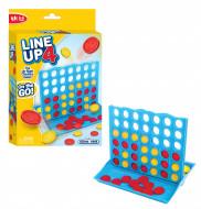 FUNVILLE GAMES Line Up 4 spēle, ceļojumu versija, 61142 61142