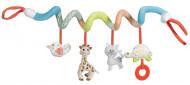 VULLI Sophie la girafe rotaļlieta automašīnas sēdeklim, ratiņiem, putni 3m+ 230765F 230765F