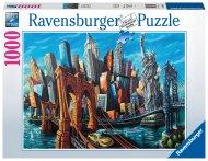 RAVENSBURGER puzle Welcome to New York, 1000gab., 16812 16812
