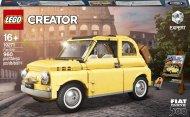 10271 LEGO® Creator Expert Fiat 500 10271