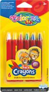Colorino Sejas krītiņi 6 krāsas 32629PTR