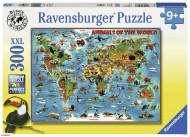 RAVENSBURGER puzle Pasaules dzīvnieki, 300 gab., 13257 13257
