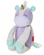 SKIP HOP miega rotaļlieta ar raudāšanas sensoru - Vienradzis, 303600 303600