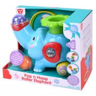 PLAYGO Rotaļlieta zilonis ar bumbiņām un gredzeniem, 2993 2993