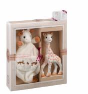 VULLI komplekts Sophie la Girafe + miega rotaļlieta 000003 000003