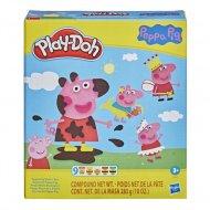 PLAY DOH plastilīna komplekts Peppa Pig, F14975L0 F14975L0