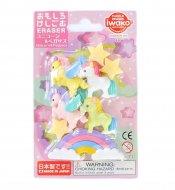 IWAKO dzēšgumiju komplekts Unicorn & Pegasus, 4991685190147 4991685190147