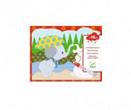 DJECO dāvana jaunākajiem bērniem - krāsošanas prieks, DJ09065 DJ09065