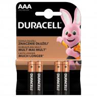 DURACELL akumulators AAA, 4 pc., DURB055