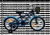 Bērnu velosipēds QUURIO Pastel Wooohooo 16'' EKBKOT-003