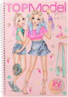 TOPMODEL Dress Me Up Tropical krāsojamā grāmata, 10576 10576