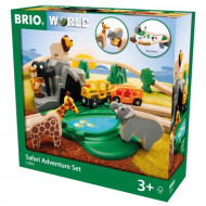 BRIO RAILWAY Safari Adventure Set, 33960 33960