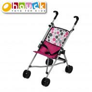 HAUCK leļļu rati Uno mini, rozā, D81009 D81009