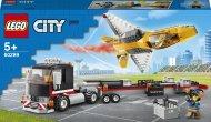 60289 LEGO® City Great Vehicles Sacīkšu lidmašīnas pārvadātājs 60289