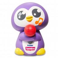 TOMY muzikālā vannas rotaļlieta Dziedošais  Pingvīns, E72724C