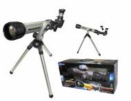 EASTCOLIGHT teleskops ar digitālo spoguli+statīvs (balts), 32001 32001