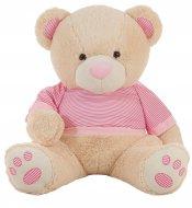 LLOPIS plīša lācis 80 cm rozā., 10578 10578