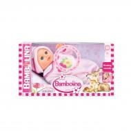 BAMBOLINA mīkstā rotaļu lelle ar bučošanās skaņu 33cm, BD220PRKS BD220PRKS