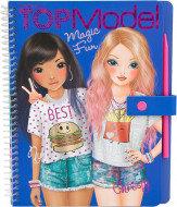 TOPMODEL krāsojamā grāmata Magic Fun, 10015 10015