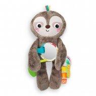 BRIGHT STARTS mīkstā rotaļlieta Slingin' Sloth , 12501-6-MEWW-YW2 12501-6-MEWW-YW2
