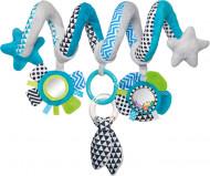 CANPOL BABIES spirālveida rotaļlieta, gultiņai/ratiem Zig Zag, 68/063 68/063_blu