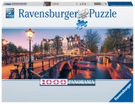 RAVENSBURGER puzle Abend in Amsterdam, 1000gab, 16752 16752