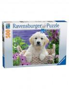 RAVENSBURGER puzle Skaistais zelta retrīvers, 500 gab., 14829 14829