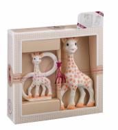 VULLI komplekts Sophie la Girafe + apļveida zobgrauznis 000001 000001