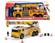SIMBA DICKIE TOYS CONSTRUCTION kravas auto ar pacēlāju, 203729004 203729004